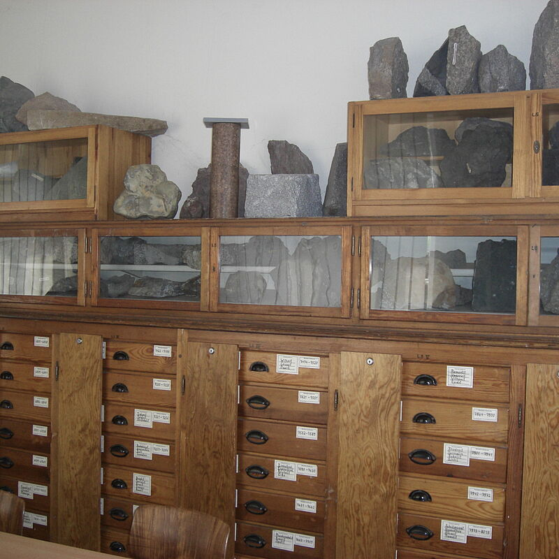 Tectonic rock collection